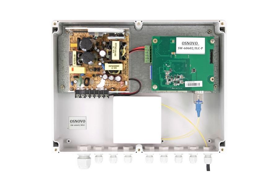 Уличный PoE-коммутатор SW-60602WLC