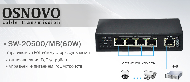 Osnovo SW 20500MB(60W) news 1banner