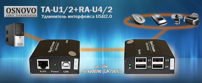 USB extender Osnovo